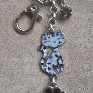 Cat Lover's Purse Charm